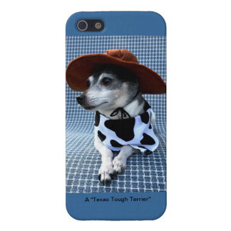 Texas Tough Terrier iPhone 5 Cases