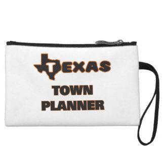 Texas Town Planner Wristlet Clutch