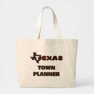 Texas Town Planner Jumbo Tote Bag