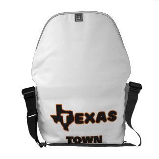 Texas Town Planner Messenger Bags
