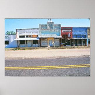 Texas Town Poster