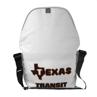 Texas Transit Planner Messenger Bags