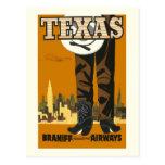 Texas Travel Vintage Postcard