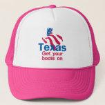 TEXAS TRUCKER HAT