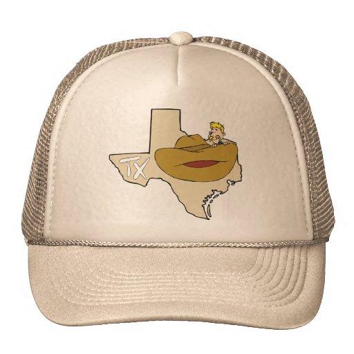 texas tx map amp cowboy with ten gallon hat cartoon zazzle