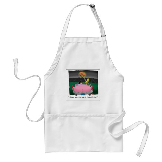 Texas UFO? Funny Tees, Gifts & Collectibles Adult Apron
