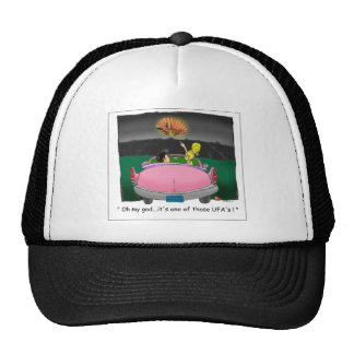 Texas UFO? Funny Tees, Gifts & Collectibles Trucker Hats