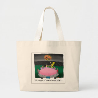 Texas UFO? Funny Tees, Gifts & Collectibles Jumbo Tote Bag