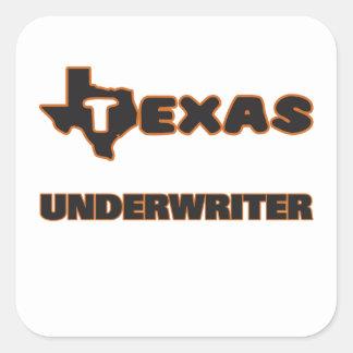 Texas Underwriter Square Sticker