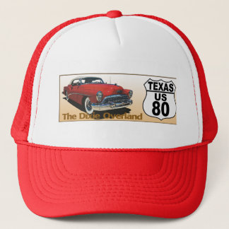 Texas US Route 80 - The Dixie Overland Trucker Hat