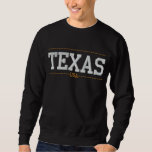 Texas USA Embroidered Sweatshirts