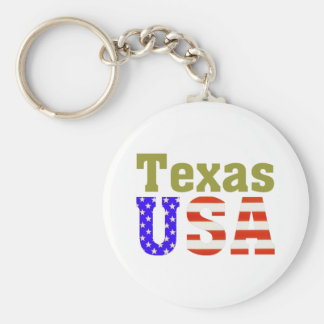 Texas USA! Keychain