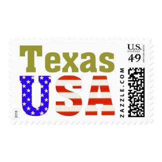 Texas USA! Postage Stamp