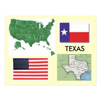 Texas, USA Postcard