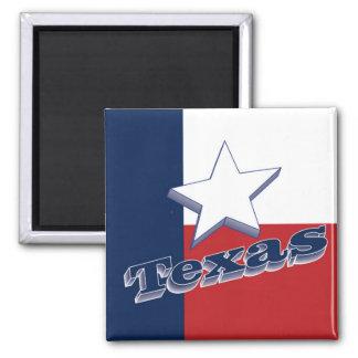 Texas USA State Travel Souvenir Fridge Magnet