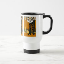 Texas USA Vintage Travel mugs