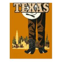 Texas USA vintage travel postcard
