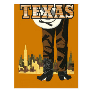 Texas USA vintage travel postcard