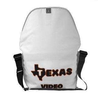 Texas Video Editor Messenger Bags
