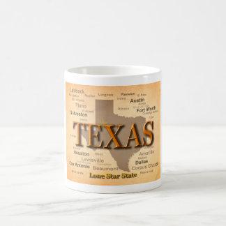 Texas Vintage Map Coffee Mug