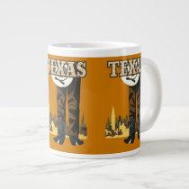 Texas Vintage Travel Poster mugs