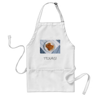 Texas Waffle Adult Apron