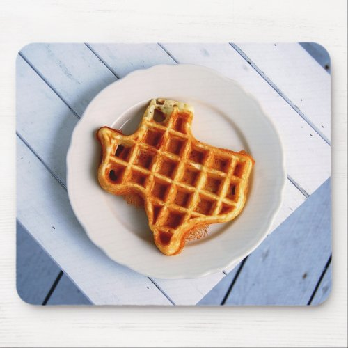 Texas Waffle Mouse Pad