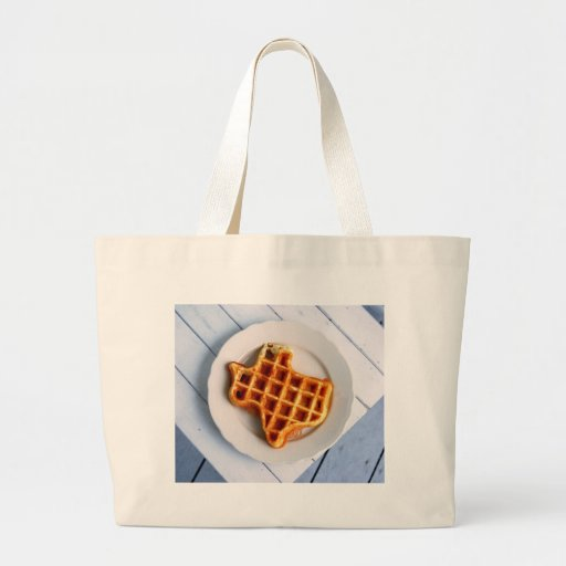 Texas Waffle Tote Bags