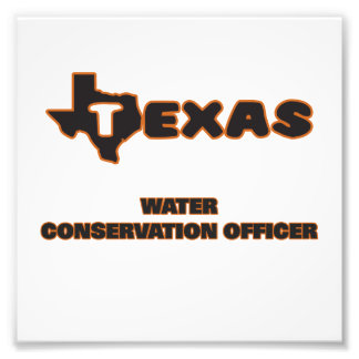 Texas Water Conservation Officer Photo Print