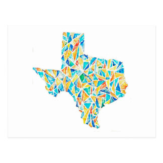 Texas Watercolor Customizable Postcard
