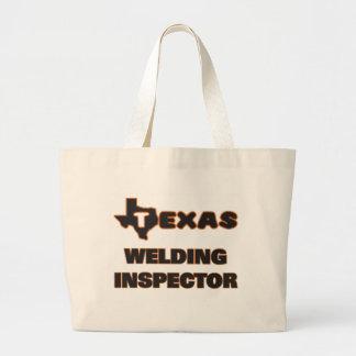 Texas Welding Inspector Jumbo Tote Bag
