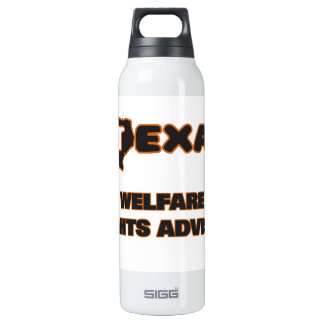 Texas Welfare Rights Adviser 16 Oz Insulated SIGG Thermos Water Bottle