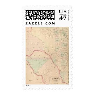 Texas, Western Portion Postage