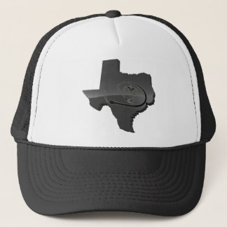 TEXAS WHIP AND CUFFS TRUCKER HAT