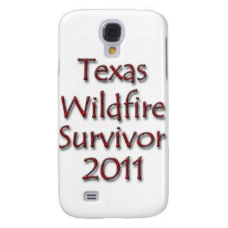 Texas Wildfire Survivor 2011 Red Samsung Galaxy S4 Case