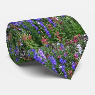 Texas Wildflowers Neck Tie