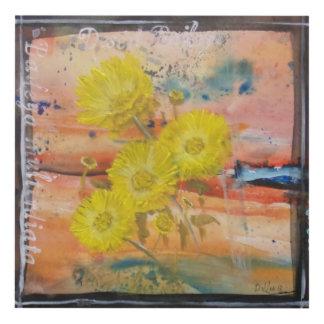 Texas Wildflowers wall art Desert Baileya