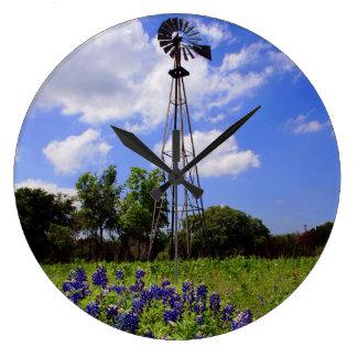 Texas Windmill Clock