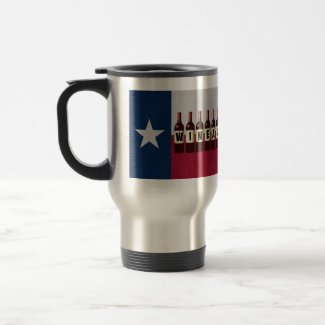 Texas Wineaux Wine Bottles: May Contain Wine Travel Mug