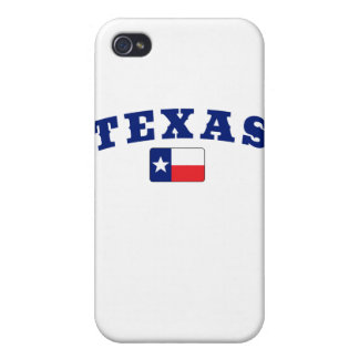 Texas with Flag iPhone 4/4S Covers