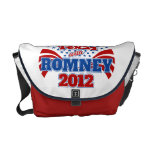 Texas with Romney 2012 Courier Bag