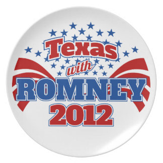 Texas with Romney 2012 Plates