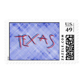 TEXAS WORD POSTAGE STAMPS