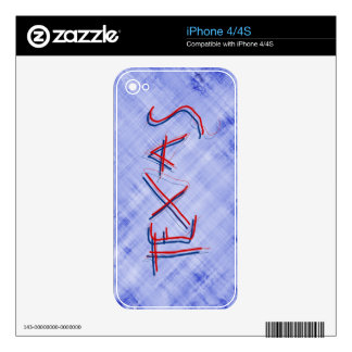 TEXAS WORD SKINS FOR iPhone 4