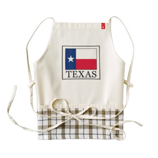 Texas Zazzle HEART Apron