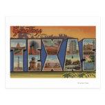 TexasLarge Letter Scenes 3 Postcard