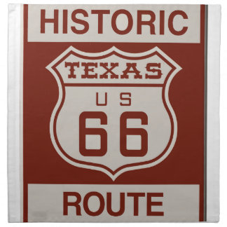 TEXASROUTE66 CLOTH NAPKIN