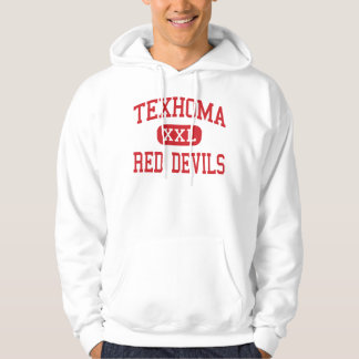 Texhoma - Red Devils - High - Texhoma Oklahoma Hooded Pullover