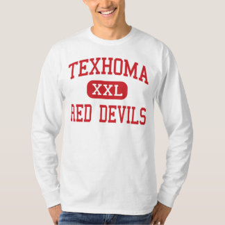 Texhoma - Red Devils - Middle - Texhoma Oklahoma Shirts