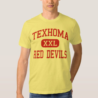 Texhoma - Red Devils - Middle - Texhoma Oklahoma T Shirt